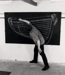 Drawing out Grey Boat 2001