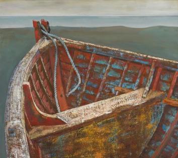 Old Aldeburgh Beach Boat