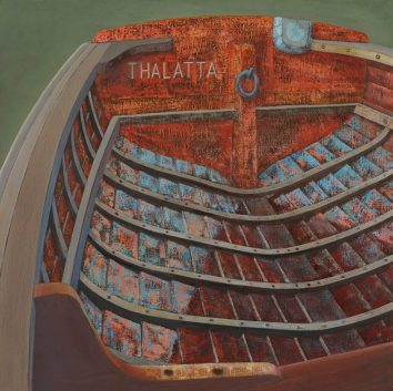 "Barge Boat ""Thalatta"""