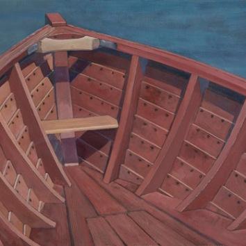 Roskilde 19 foot Eel Boat