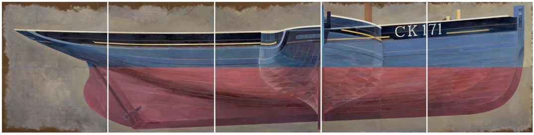 2014 • oil on board in 5 panels • 153 x 610cm