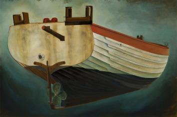 Aldeburgh Beach Boat, Transom