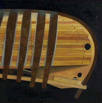 Building a Grand Lake Canoe, 'Kingfisher'