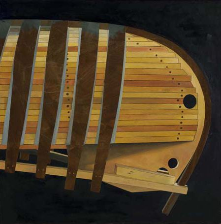 Building a Grand Lake Canoe, 'Kingfisher'