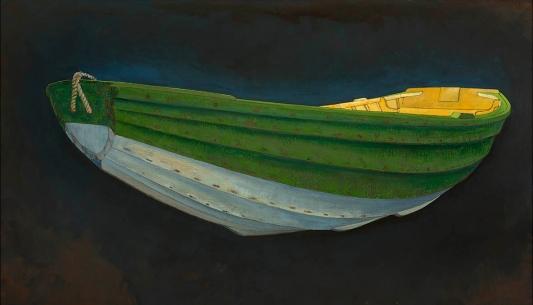 Green Pram Dinghy