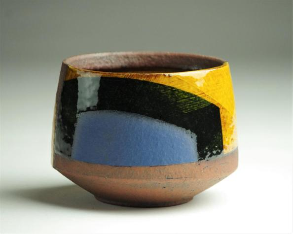 Bowl-w13cm-dark-honey-glaze-2017