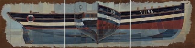 Yarmouth Lugger Triptych