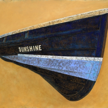 Foy Half Coble 'Sunshine' from the NMMC collection